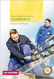 Flyer Klempner/-in